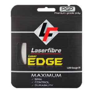 Laser Edge Tennis String Anthracite