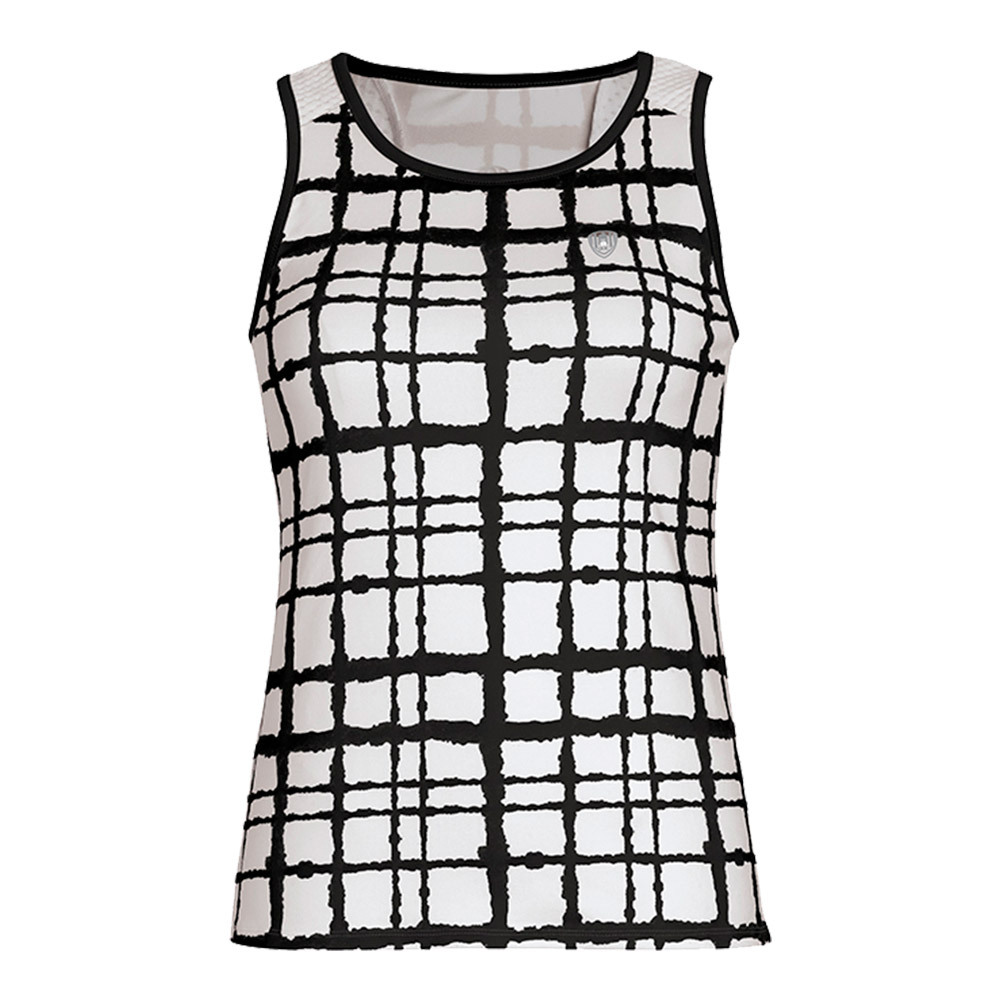 Women's Absolute Racer Tennis Tank Black