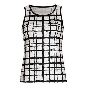 Women`s Absolute Racer Tennis Tank Black