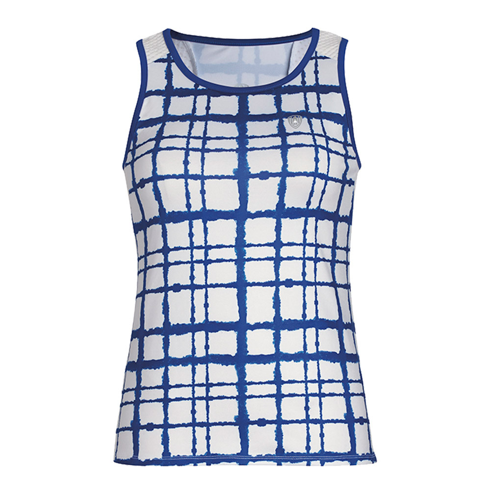 Women's Absolute Sublimated Racer Tennis Tank Royal