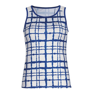 Women`s Absolute Sublimated Racer Tennis Tank Royal