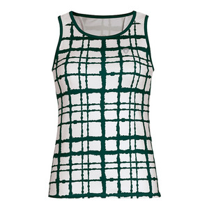 Women`s Absolute Sublimated Racer Tennis Tank Pine
