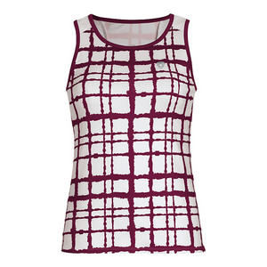 Women`s Absolute Sublimated Racer Tennis Tank Maroon
