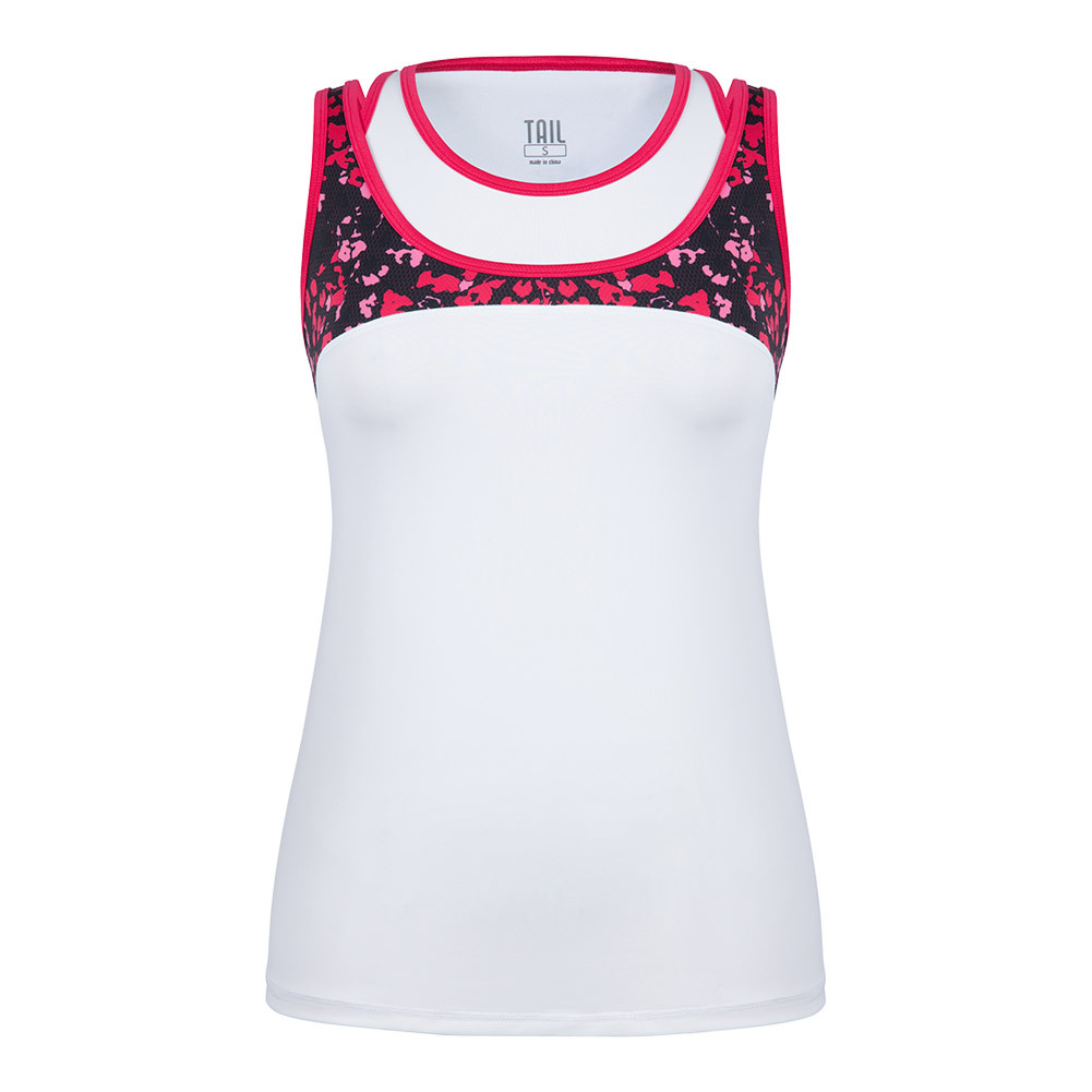 Women's Carmen Tennis Tank White