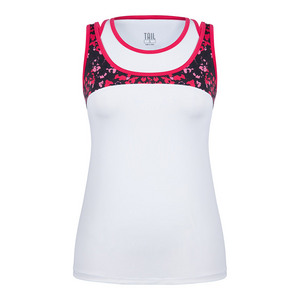 Women`s Carmen Tennis Tank White