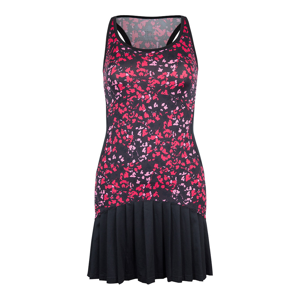 Women's Vicky Tennis Dress Floral Mesh