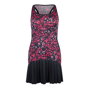 Women`s Vicky Tennis Dress Floral Mesh