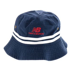 NB Tennis Reversible Bucket Hat Navy and White