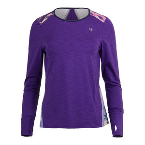 Women`s Xtreme Long Sleeve Tennis Top Purple