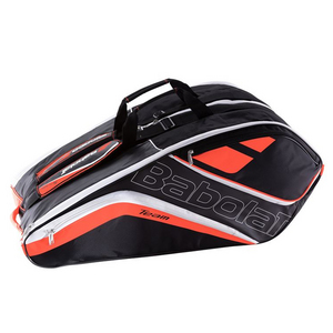 Team 12 Pack Tennis Bag Fluo Red