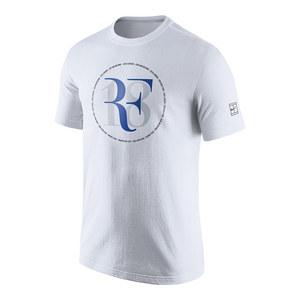 Men`s Roger Federer Celebration Tennis Tee White