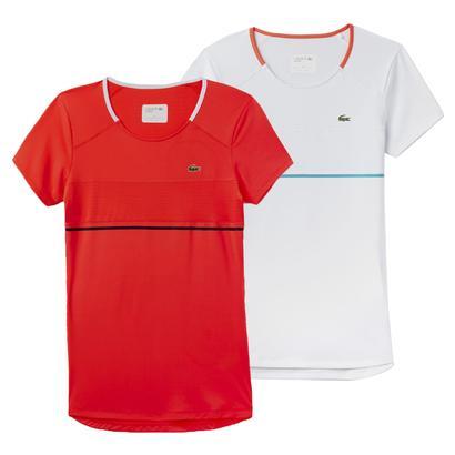 Women`s Short Sleeve Tech Tennis Tee