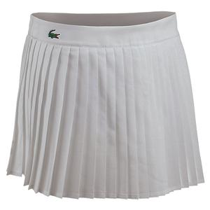Women`s Technical Solid Pleated Tennis Skirt