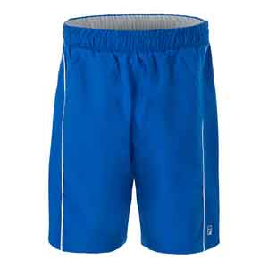 Boys` Fundamental Piped Tennis Short Electric Blue