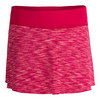 Women`s Deuce Tennis Skirt 927_RASPBRY_YARN_DYE