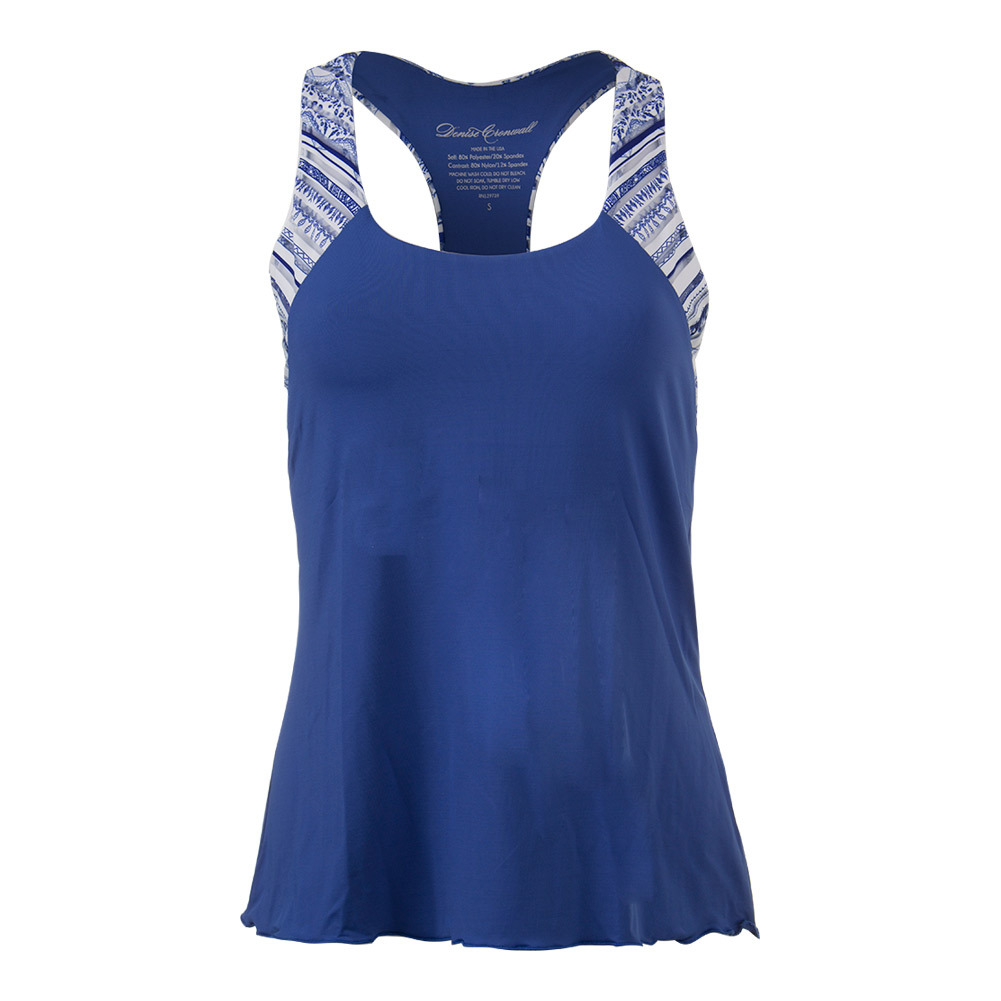Women's Nordica Racerback Tennis Tank Blue