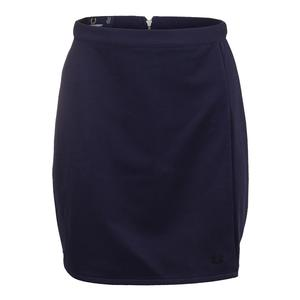 Women`s Tonal A-Line Tennis Skirt Carbon Blue
