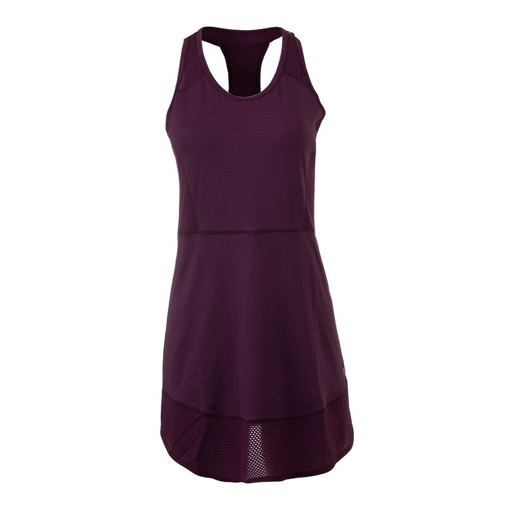 Women's Centre Court Tennis Dress Mulberry