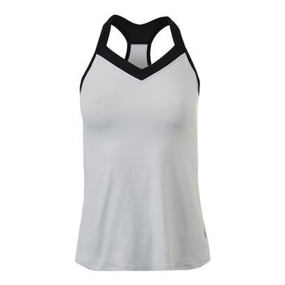 Women`s Cross Back Tennis Tank White