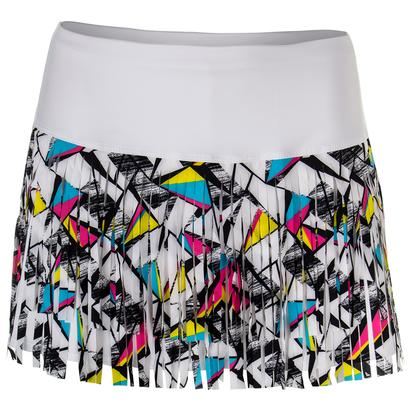 Women`s Shape Up Fringe Tennis Skort Print