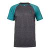 Men`s Backcourt Tennis Crew 022_GRAY_MARL/LAGOON