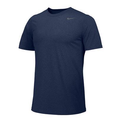 Men`s Team Legend Short Sleeve Tennis Crew College Navy