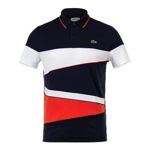 Men`s T2 Engineereed Color Block Tennis Polo
