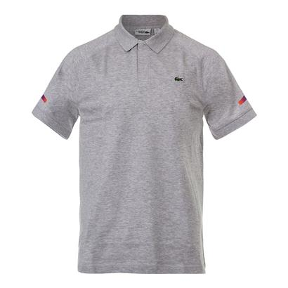 Men`s Lifestyle Super Lite Tennis Top Silver Gray Chine