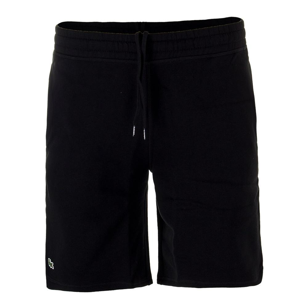 Men's Lifestyle Fleece Tennis Short Black