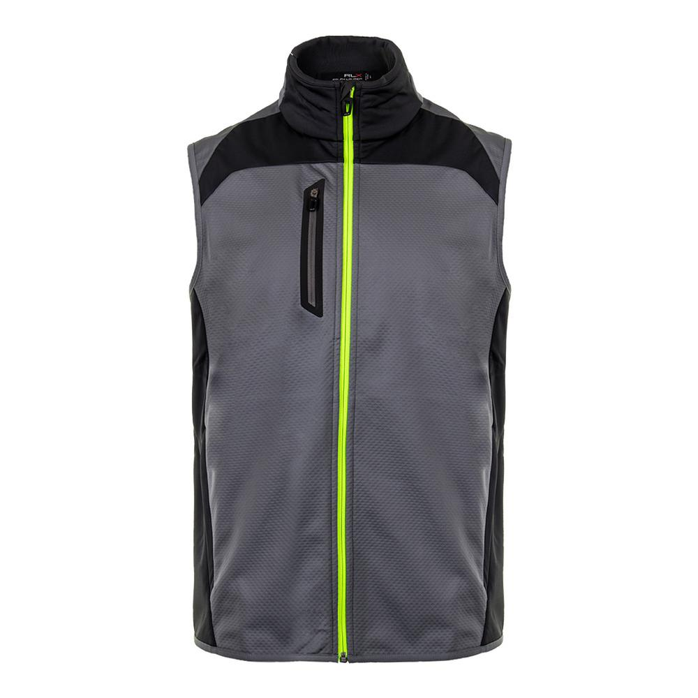 Men's Double Faced Vest Active Gray