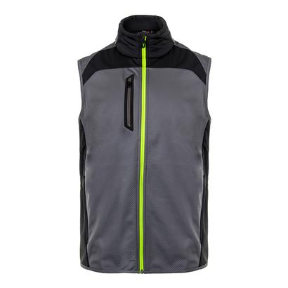 Men`s Double Faced Vest Active Gray