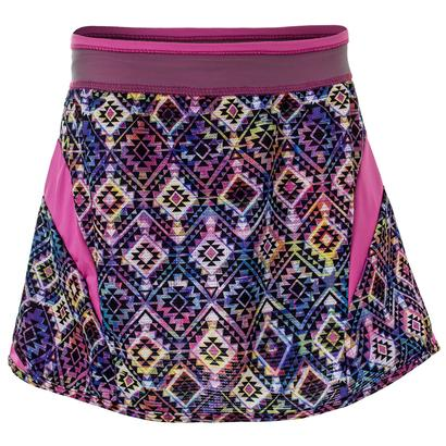 Girls` Tricked Out Tennis Skort Print