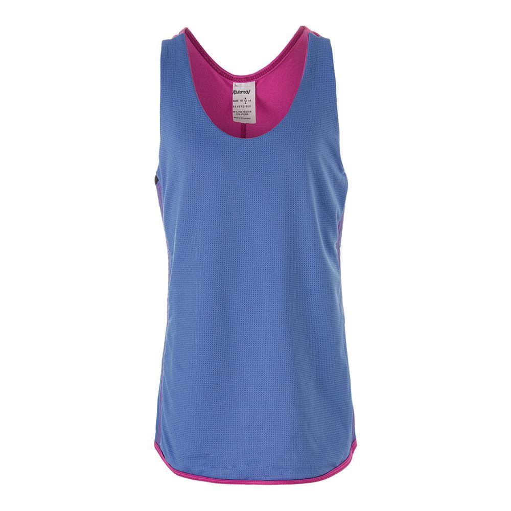 Girls ` Get Real Reversible Tennis Tank Pinkberry