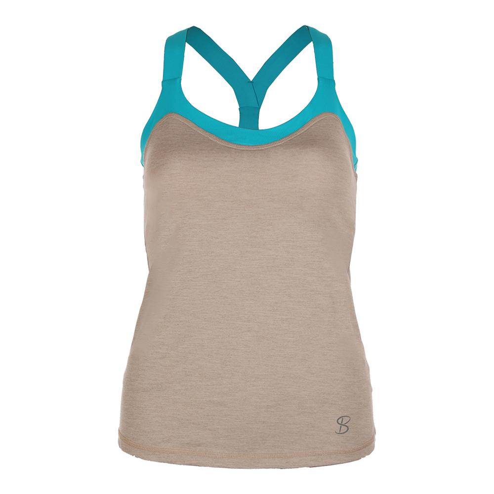 Women's Athletic Tennis Cami Sand