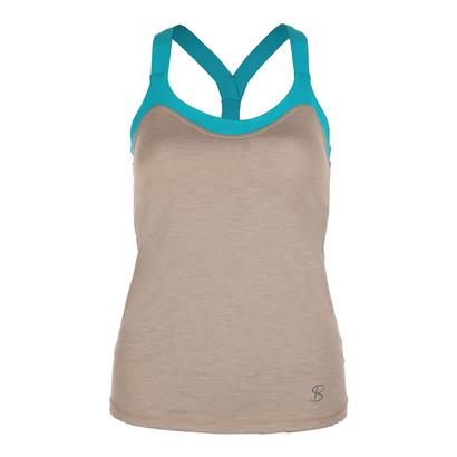 Women`s Athletic Tennis Cami Sand