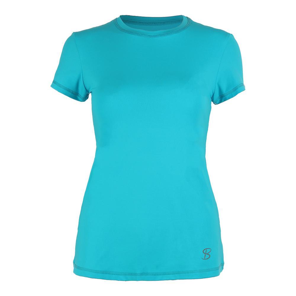 Women's Classic Short Sleeve Tennis Top Ultra Marine