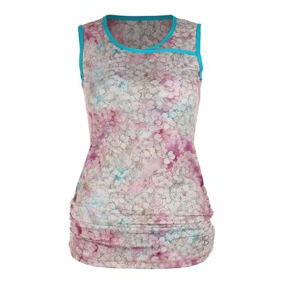 Women`s Classic Sleeveless Tennis Top Prevail Print