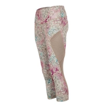 Women`s Supplex Tennis Capri Prevail Print