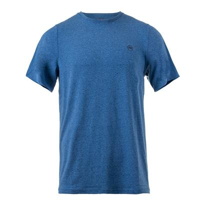 Men`s Briggs Tennis Crew Heather Brilliant Blue