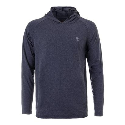 Men`s Fanticola Tennis Hoodie Heather Dark Denim