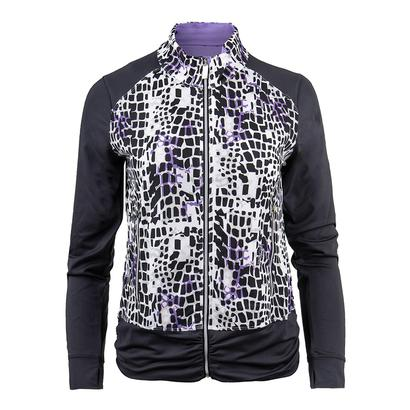 Women`s Gianna Graphic Tennis Jacket Graphite