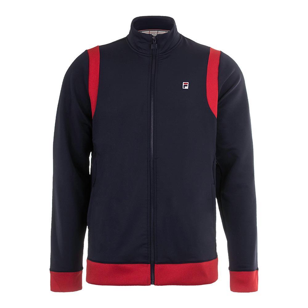 Men's Heritage Tennis Jacket Navy