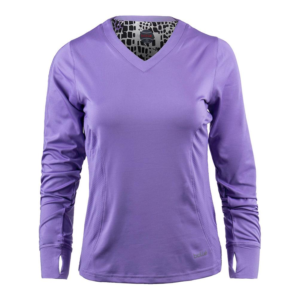 Women's Gianna Long Sleeve Tennis Top Lilac