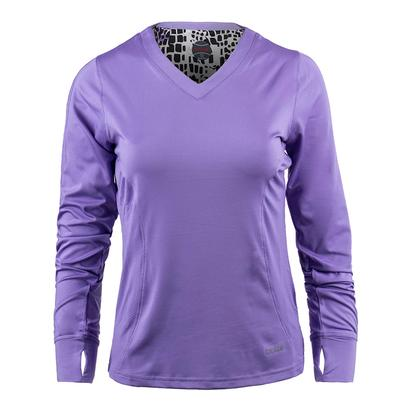 Women`s Gianna Long Sleeve Tennis Top Lilac