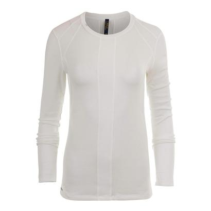 Womens Drapey Long Sleeve Top