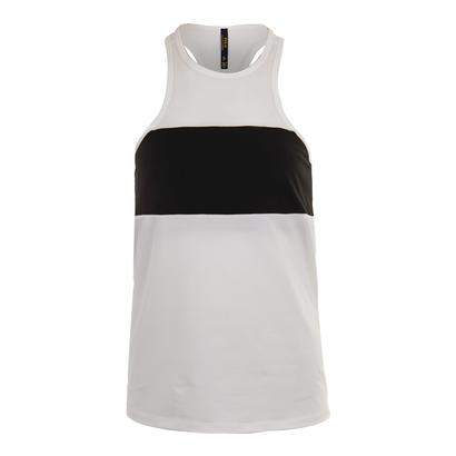 Women`s Knit Tank Pure White