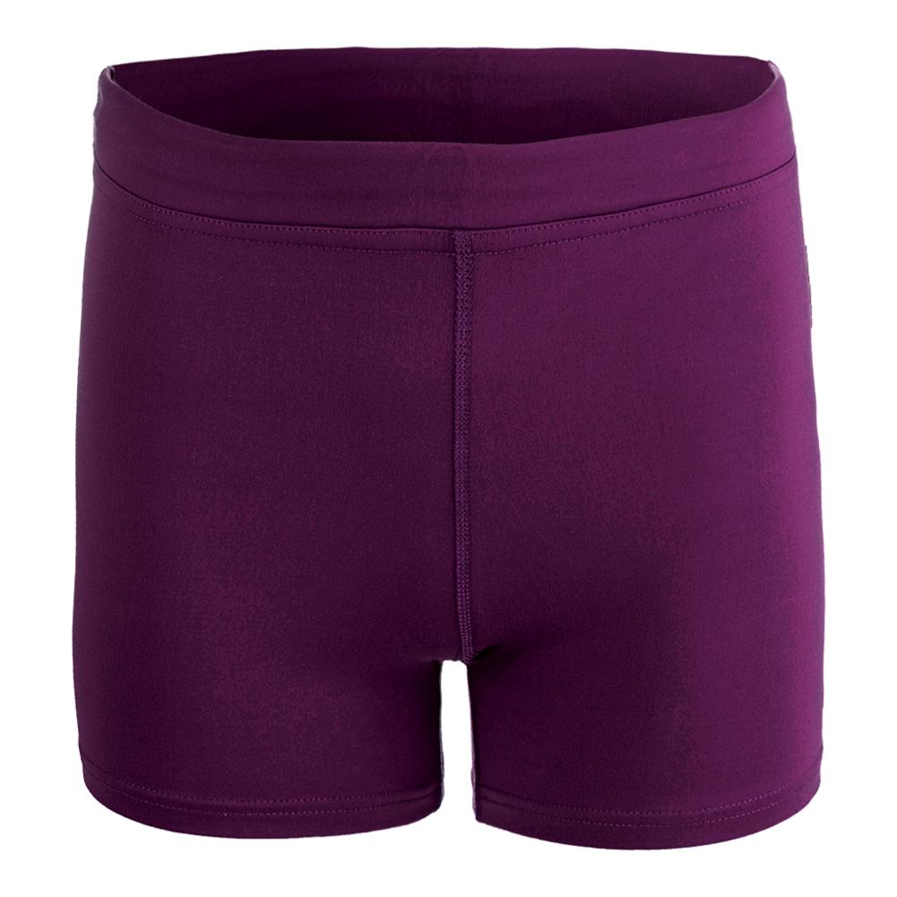 Women's Climate Tennis Short Mulberry