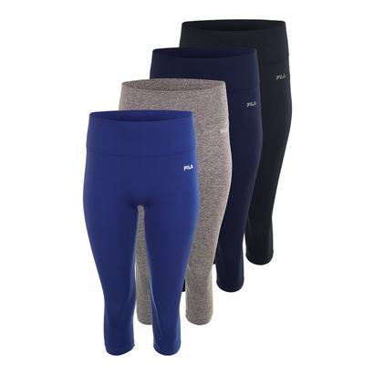 Women`s Leg High Seamless Tight Capri