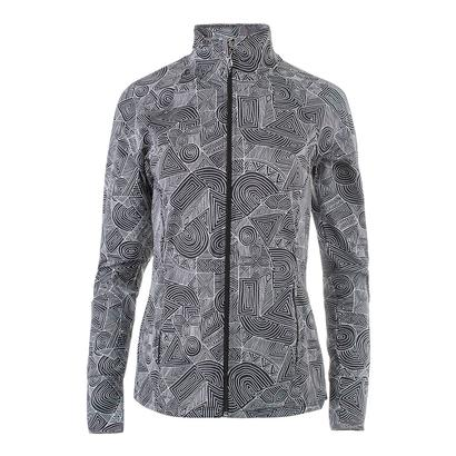 Women`s Finish Line Tennis Jacket Intrepid Print