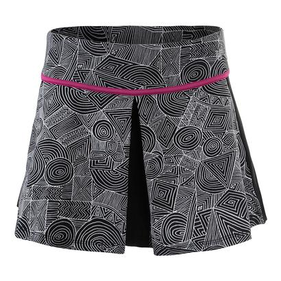Women`s 13 Inch Spin Tennis Skirt Intrepid Print